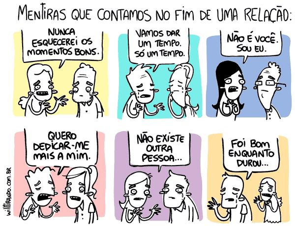 Frases De Fim De Namoro: FIM DE RELACIONAMENTO
